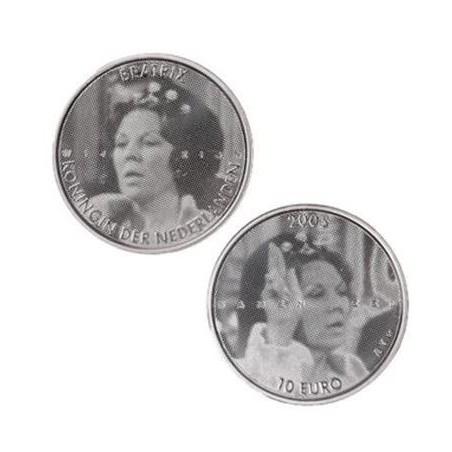Nederland 2005 10 euro Regeringsjubileum Zilver Unc