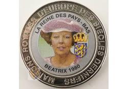 Congo Dem. Republiek 1999 5 Francs Unc Beatrix