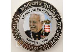 Congo Dem. Republiek 1999 5 Francs Unc Rainier II
