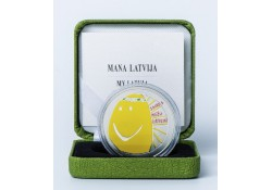 Letland 2018 5 euro My Latvia Zilver Proof Voorverkoop*