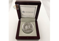 Malta 2018 10 Euro zilver Proof Baroque & Rococo The Babtism of Christ