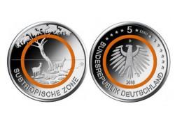 Duitsland 2018  5 euro Subropische zone  Unc