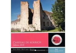 Luxemburg 2017 5 euro Château de Koerich