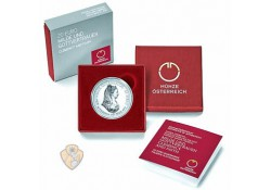 Oostenrijk 2018 20 Euro Clemency and Faith Proof