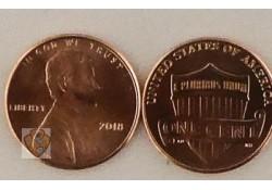 U.S.A. 1 Cent 2018 (P) Unc