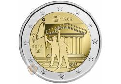 2 Euro België 2018 '50 jaar 1968' Unc Voorverkoop*