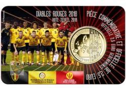 """België 2018 2½ Euro 'Rode duivels"""" Bu in coincard Vlaams Voorverkoop"""