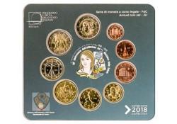 Bu set Italië 2018 (9 munten)