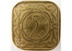 5 Cent Suriname 1966 Zf Medailleslag