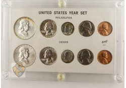 Uncirculated coinset United States 1957 Unc/Fdc