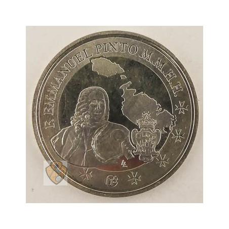 Malta 2013 10 euro Pinto Zilver Unc-