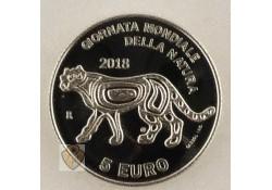 San Marino 2018 5 euro Zilver World Wildlife day