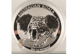 Australië 2014 Koala 1 Ounce Zilver Proof