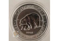 Canada 2015 8 dollar ijsbeer 1½ Ounce zilver