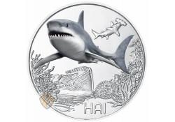 Oostenrijk 2018 3 euro Haai Unc