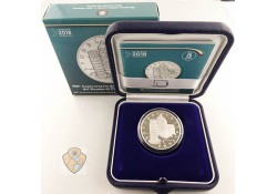 Italië 2018 5 euro 900 jr Cathedral of Pisa Zilver Proof