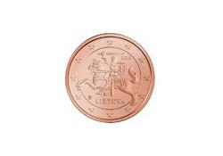 1 Cent Litouwen 2015 Unc