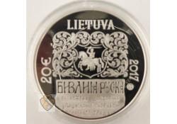 20 euro Slowakije 2017 Sharuna Roetheense bijbel Zilver proof