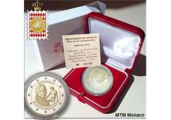 Monaco 2018 2 euro Francois-Joseph Bosio Proof Voorverkoop*