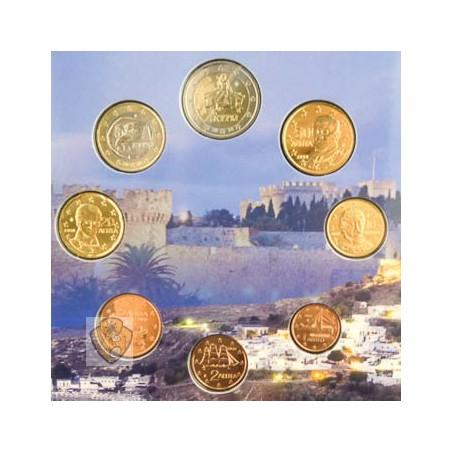 Bu set Griekenland 2018 met de normale 2 euro