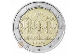 2 Euro Litouwen 2018 Zang en dansfestival unc