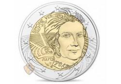 2 euro Frankrijk 2018 Simone Veil Unc Voorverkoop*