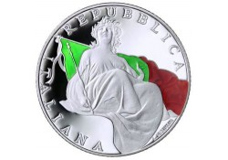 Italië 2017 5 euro 70 jaar Italiaanse grondwet Ziver Proof