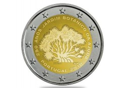 2 Euro Portugal 2018 Botanische Tuin Unc