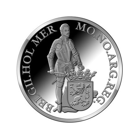 Zilveren Dukaat Proof 2010 Zuid-Holland incl doosje & cert.