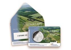 Nederland 2018 5 euro Het schokland vijfje Eerste dag uitgifte in coincard