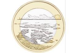 Finland 2018 5 euro Unc Natuurlandschap The Archipelago Sea