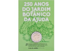 2 Euro Portugal 2018 Botanische Tuin Fdc