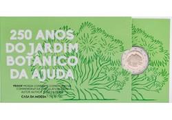 2 Euro Portugal 2018 Botanische Tuin Proof