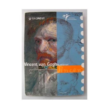 5 euro UNC 2003 Vincent van Gogh met postzegels