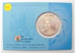 Nederland 2005 10 euro Regeringsjubileum Zilver in Coincard Unc