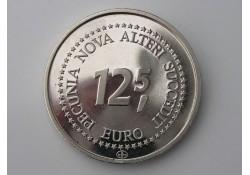 Penning 12½ euro Met Verguld dubbeltje