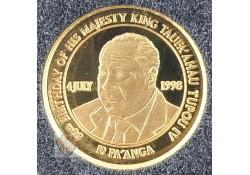 Tonga 1998 10 Tongaanse pa'anga Goud
