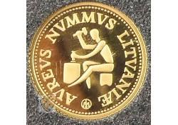 Litouwen 1999 10 Litas Goud
