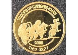 Mongolië 2000 500 Tögrög Goud