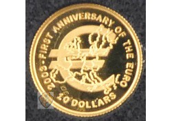 Nauru 2003 10 Dollars Goud