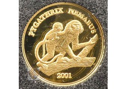 Laos peoples democratic Republic 2001 2000 Kip Goud Apen