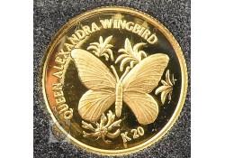Papua New Guinea 1998 20 Kina Goud
