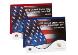 Uncirculated Coin Set 2018 D & P