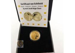 België 2018 25 Euro Hugo Claus goud