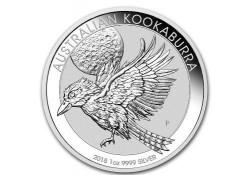 Australië 1 Dollar Kookaburra 2018 1 ounce Silver