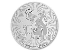Niue 2018 Two Dagobert Duck 1 ounce silver Proof