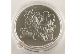 Niue 2018 Two Dollars Mickey'dog 1 ounce silver Proof Variant