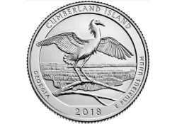 U.S.A ¼ Dollar Cumberland Island 2018 D UNC