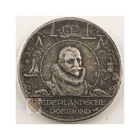 Penning Nederlandsche Roeibond 22-8-1929 Zilver