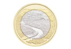Finland 2018 5 euro Natuurlandschap Olanganjoki Unc